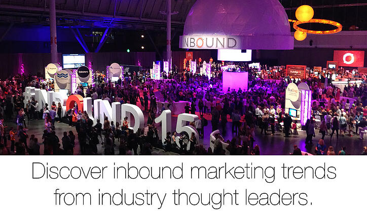 Discover inbound marketing trends from industry thought leaders