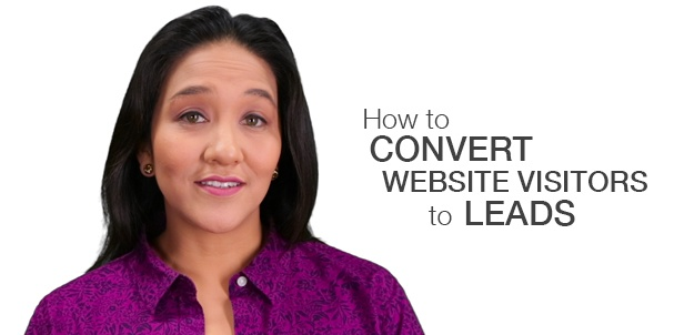 How to convert website visitors to leads