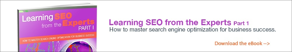 Learning SEO from the experts 1
