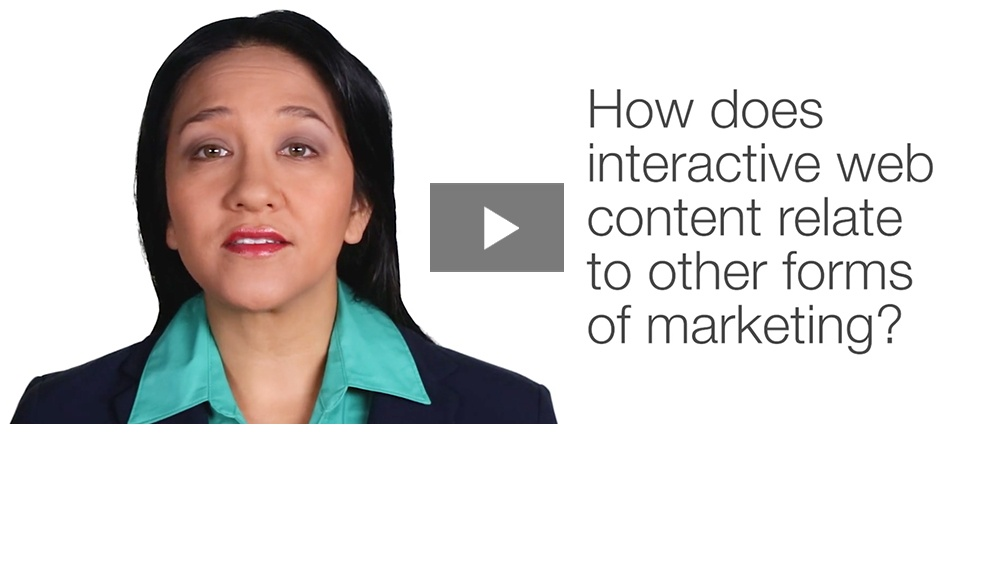 Interactive Marketing in a World Full of Content